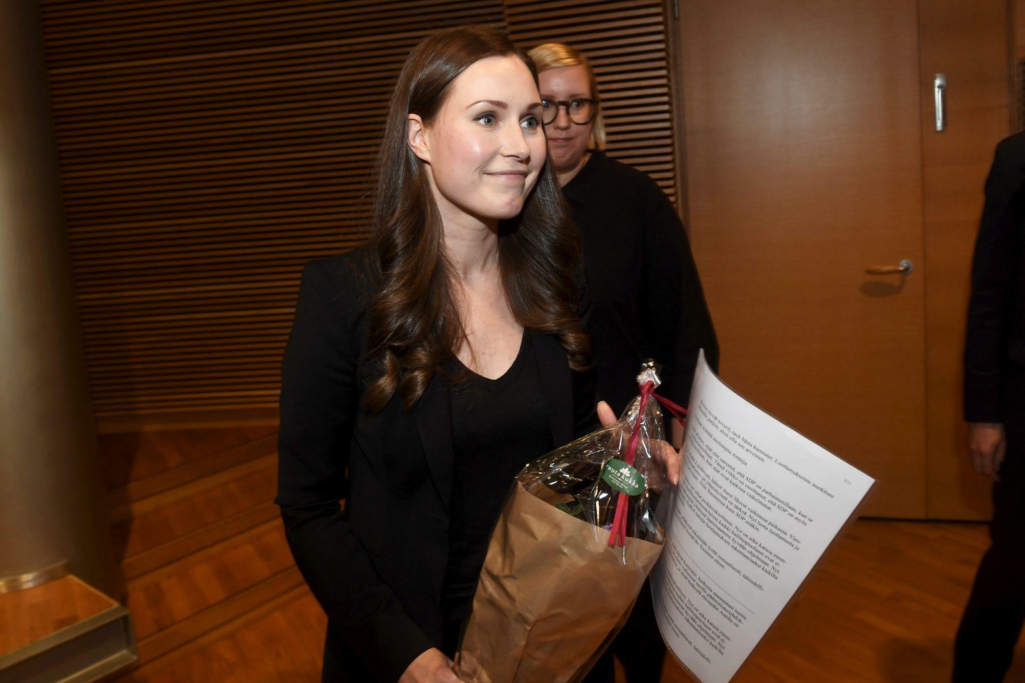 Finnland: Sozialdemokraten wählen Sanna Marin als neue Ministerpräsidentin aus