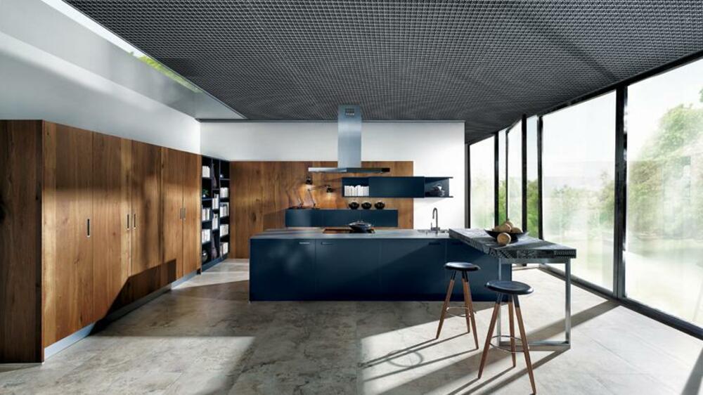 die moderne k che in diesen k chen regiert das design. Black Bedroom Furniture Sets. Home Design Ideas