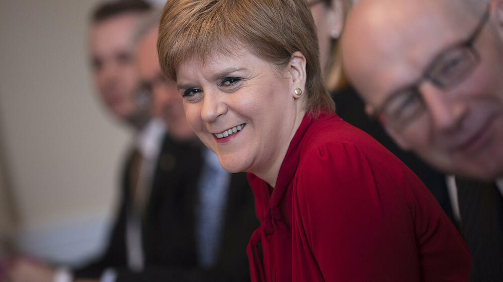 Nicola-Sturgeon Quelle: REUTERS