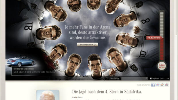 Screenshot Daimler-Werbung