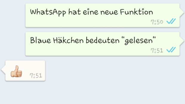 Screenshot Whatsapp Quelle: Screenshot