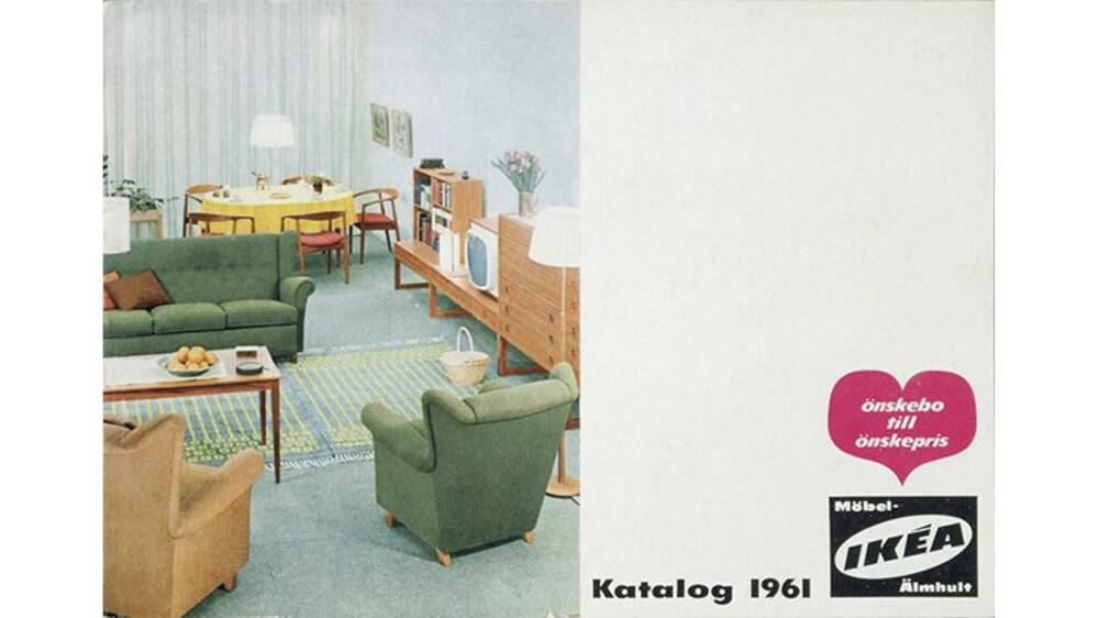 einrichtungstrends seit 1951 die ikea titelcover im wandel der zeit. Black Bedroom Furniture Sets. Home Design Ideas