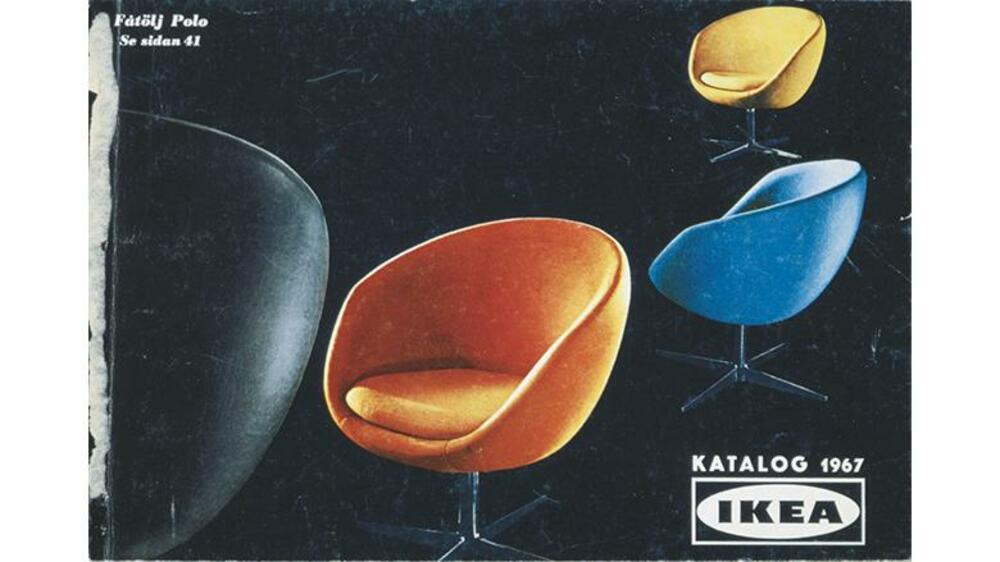 einrichtungstrends seit 1951 die ikea titelcover im wandel der zeit. Black Bedroom Furniture Sets. Home Design Ideas