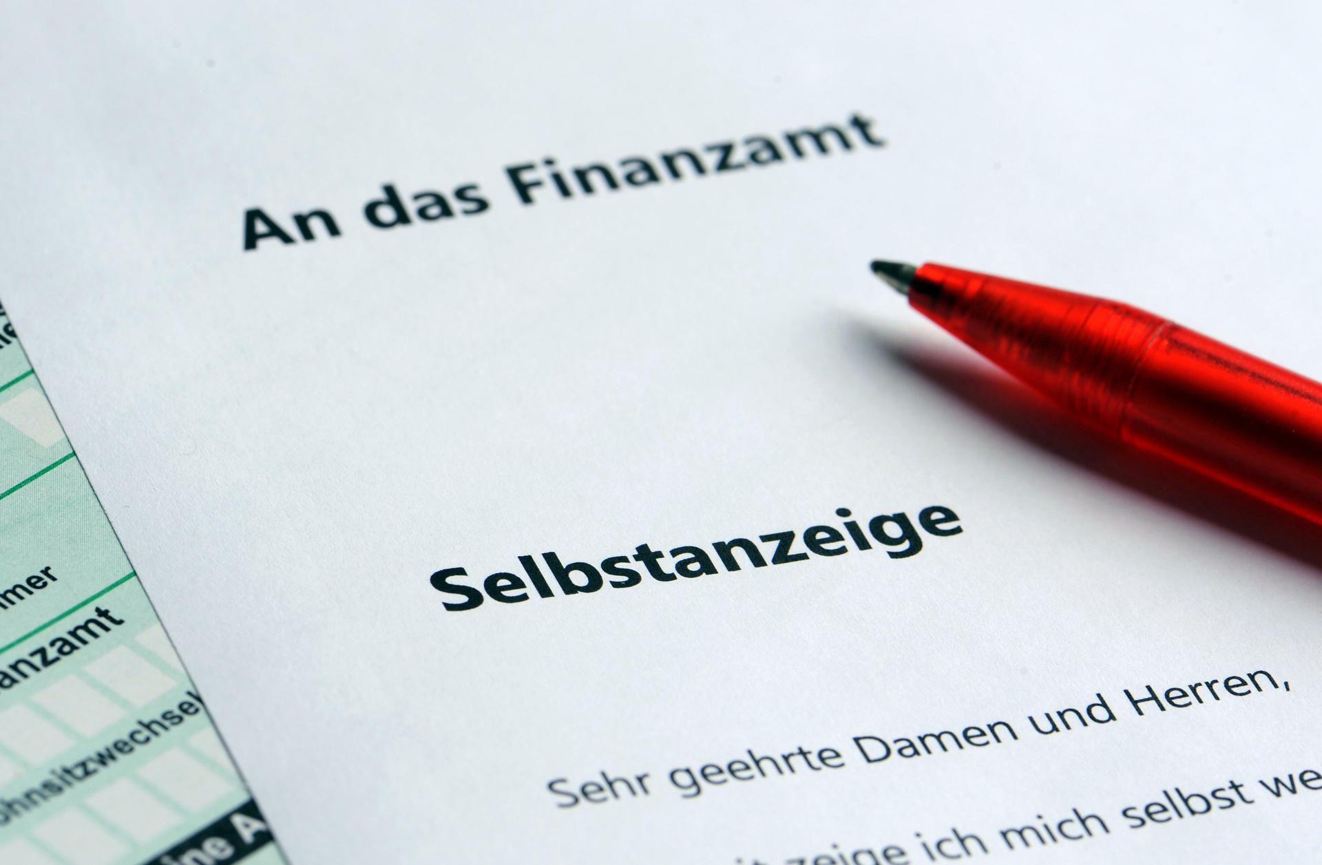 Selbstanzeige: Viele Steuerhinterzieher zu spät dran