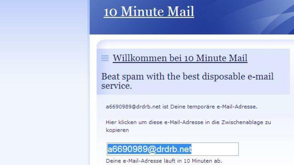 Mail Von Eigener Mailadresse