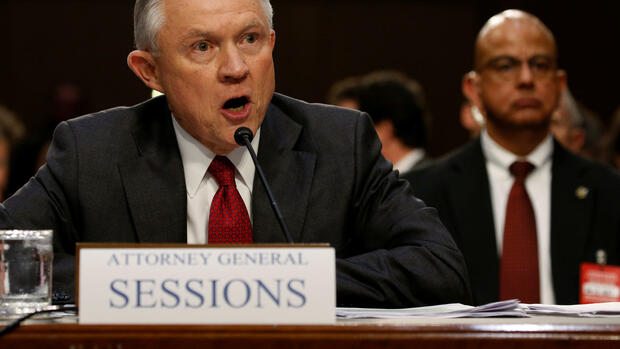 Justizminister Jeff Sessions Quelle: REUTERS