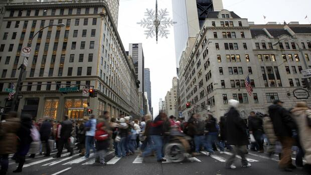 Fifth Avenue in New York Quelle: REUTERS
