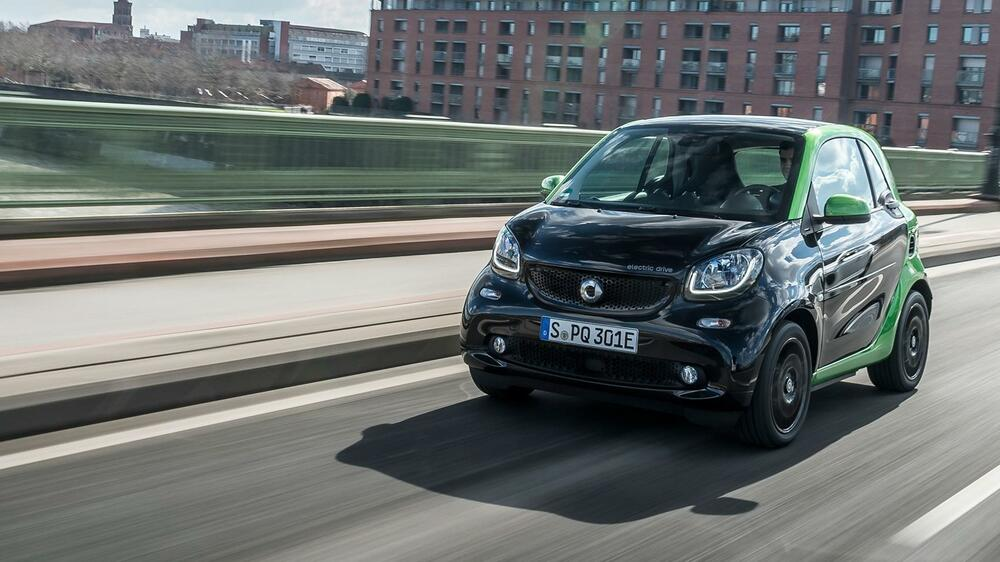 Smart Fortwo Electric Drive Quelle: Smart