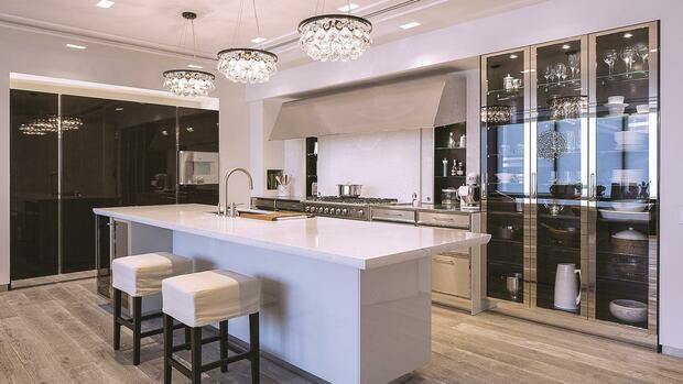 kochen am designerherd deutsche wollen luxus k chen. Black Bedroom Furniture Sets. Home Design Ideas