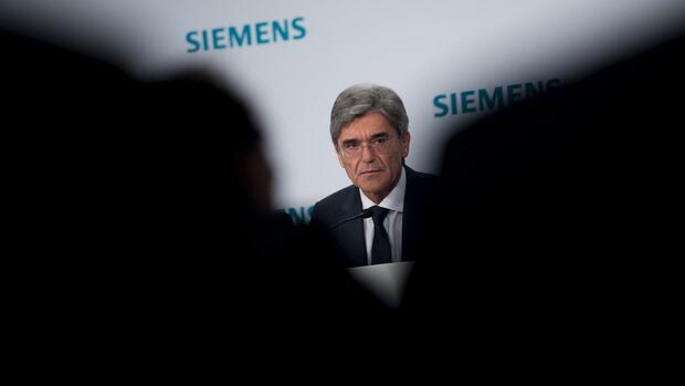 Siemens CEO Joe Kaeser Quelle: REUTERS