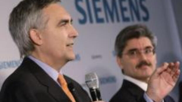 Siemens Chief Executive Peter Quelle: rtr