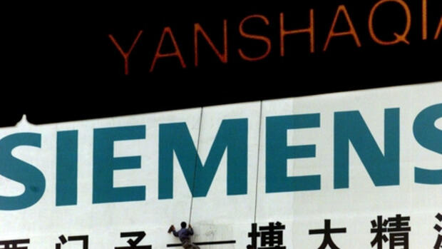 Siemens in China Quelle: REUTERS