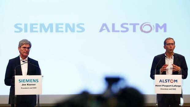 Siemens und Alstom: EU will Fusion offenbar untersagen