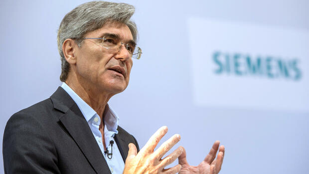Siemens-Chef Joe Kaeser Quelle: dpa