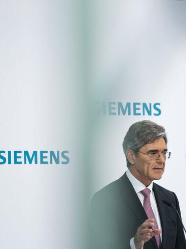 Siemens-Chef Joe Kaeser Quelle: imago images