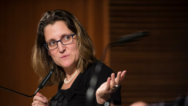 Chrystia Freeland Quelle: dpa