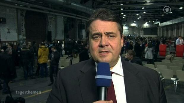 Sigmar Gabriel Quelle: Screenshot