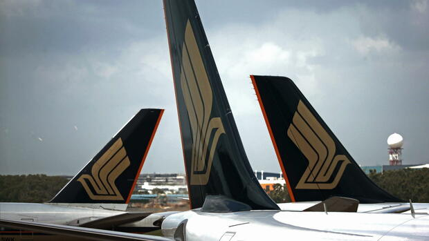 Singapore Airlines Quelle: dpa