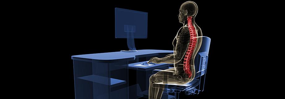 Ungesunde Büroarbeit: Wer länger sitzt, ist früher tot