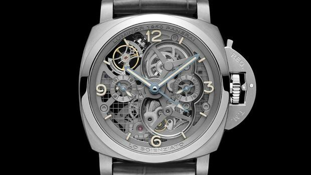 Lo Scienziato Luminor 1950 Tourbillon GMT