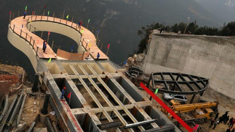 Skywalk China Quelle: dpa Picture-Alliance