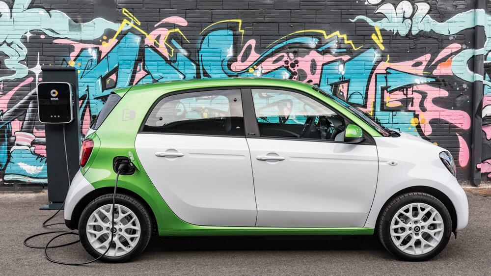 Smart Forfour EV Quelle: Spotpress