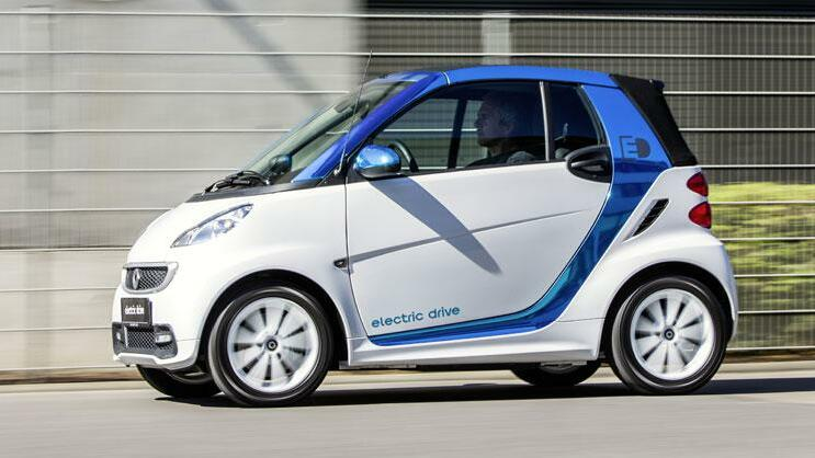 Smart ed Quelle: Daimler