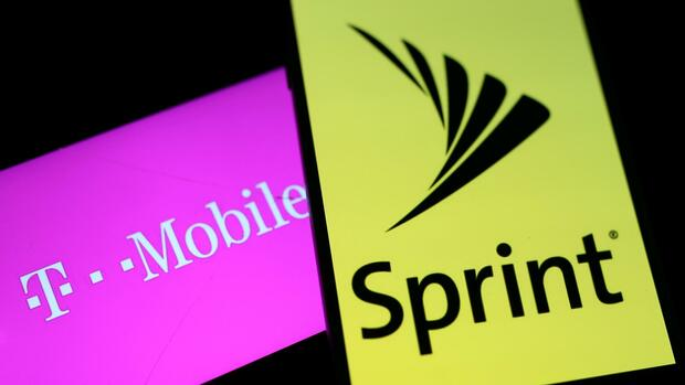 Fusion T-Mobile und Sprint Quelle: REUTERS