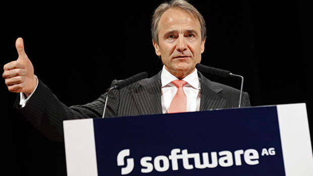 Software AG-CEO Karl-Heinz Streibich Quelle: dpa Picture-Alliance