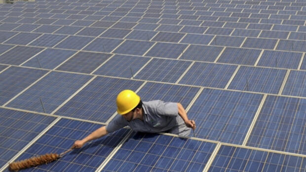 Solaranlage in China Quelle: REUTERS
