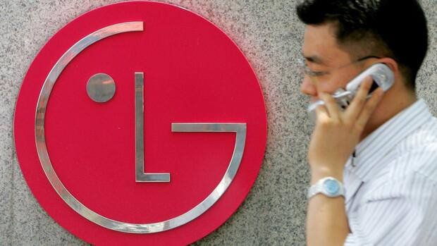 LG-Logo am Konzernsitz in Seoul Quelle: Reuters