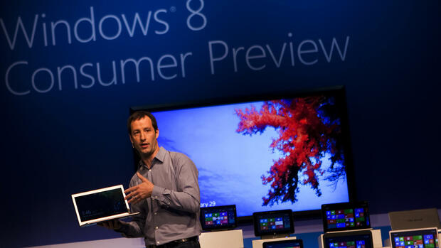 Windows 8 Consumer Preview Quelle: dapd