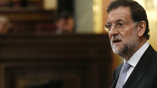 Spaniens Ministerpräsident Mariano Rajoy. Quelle: Reuters