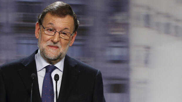 Spaniens Noch-Premierminister Mariano Rajoy Quelle: REUTERS