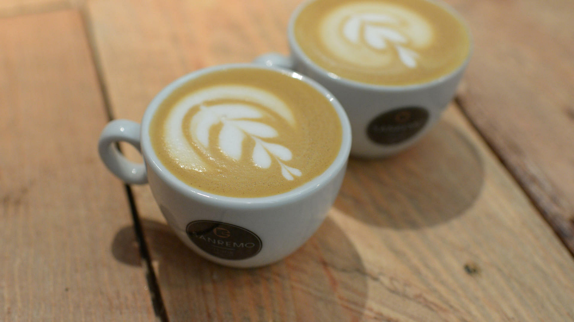 Signature-Latte-Art-Kaffe Quelle: dpa