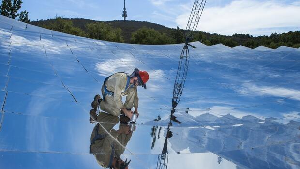 Solarkraftwerk mit Weltrekord