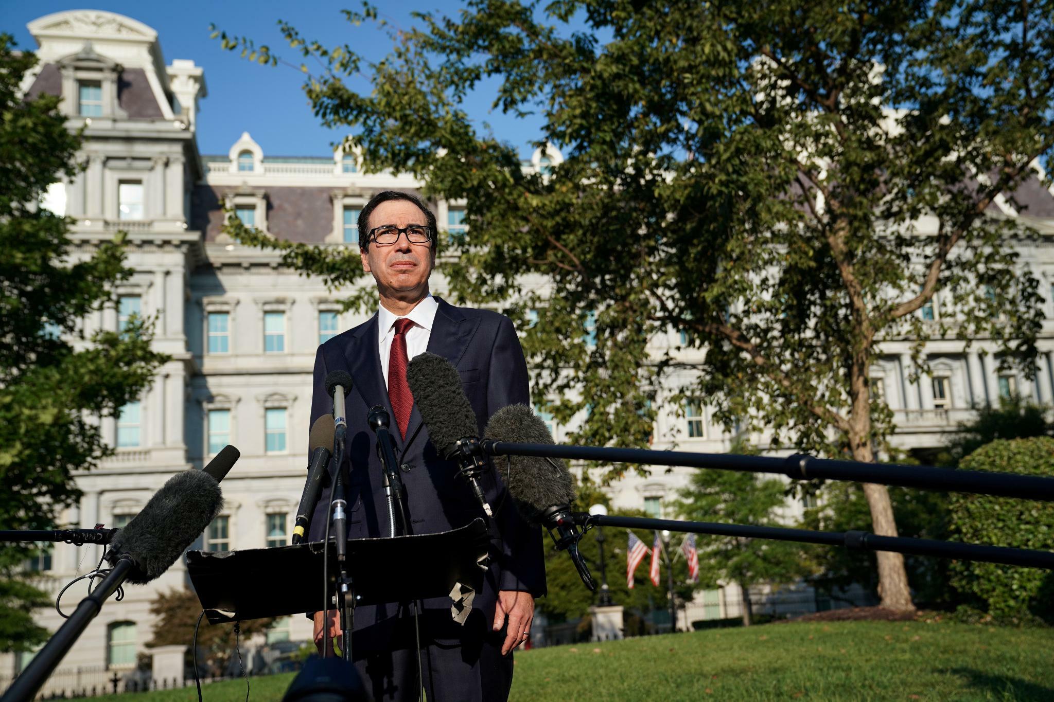 Handelsstreit: US-Finanzminister Steven Mnuchin kündigt neue Handelsgespräche mit China an