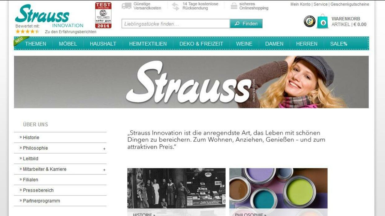 Warenhauskette Strauss Innovation Vor Der Insolvenz