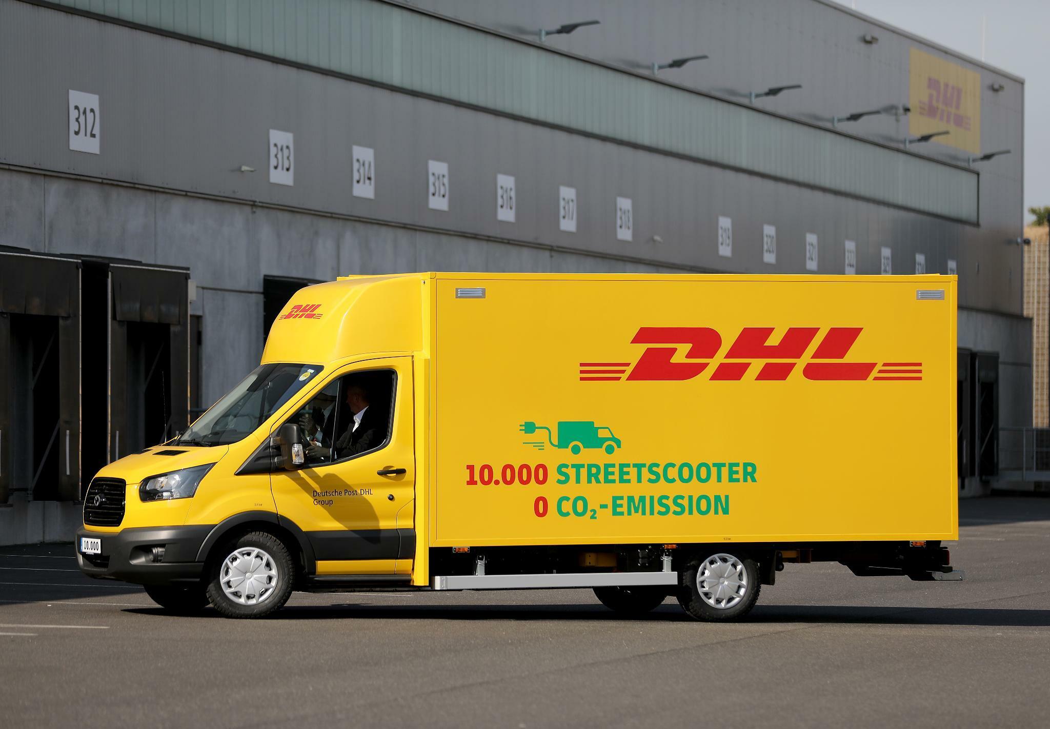 """""""Work L"""": DHL stellt emissionsfreie Elektro-Lieferwagen in US-Städten vor"""