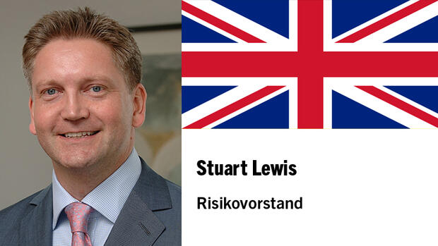 Stuart Lewis, Chief Risk Officer der Deutsche Bank Quelle: Presse