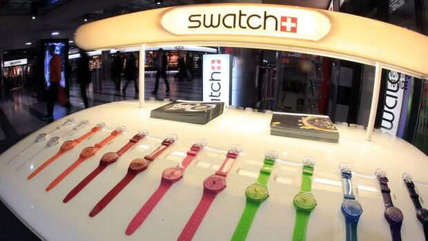 Swatch-Uhren Quelle: REUTERS