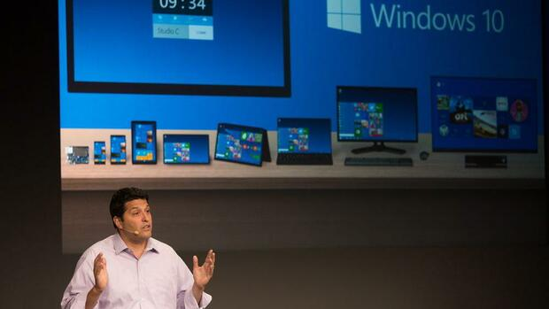 Windows 10 Quelle: dpa Picture-Alliance