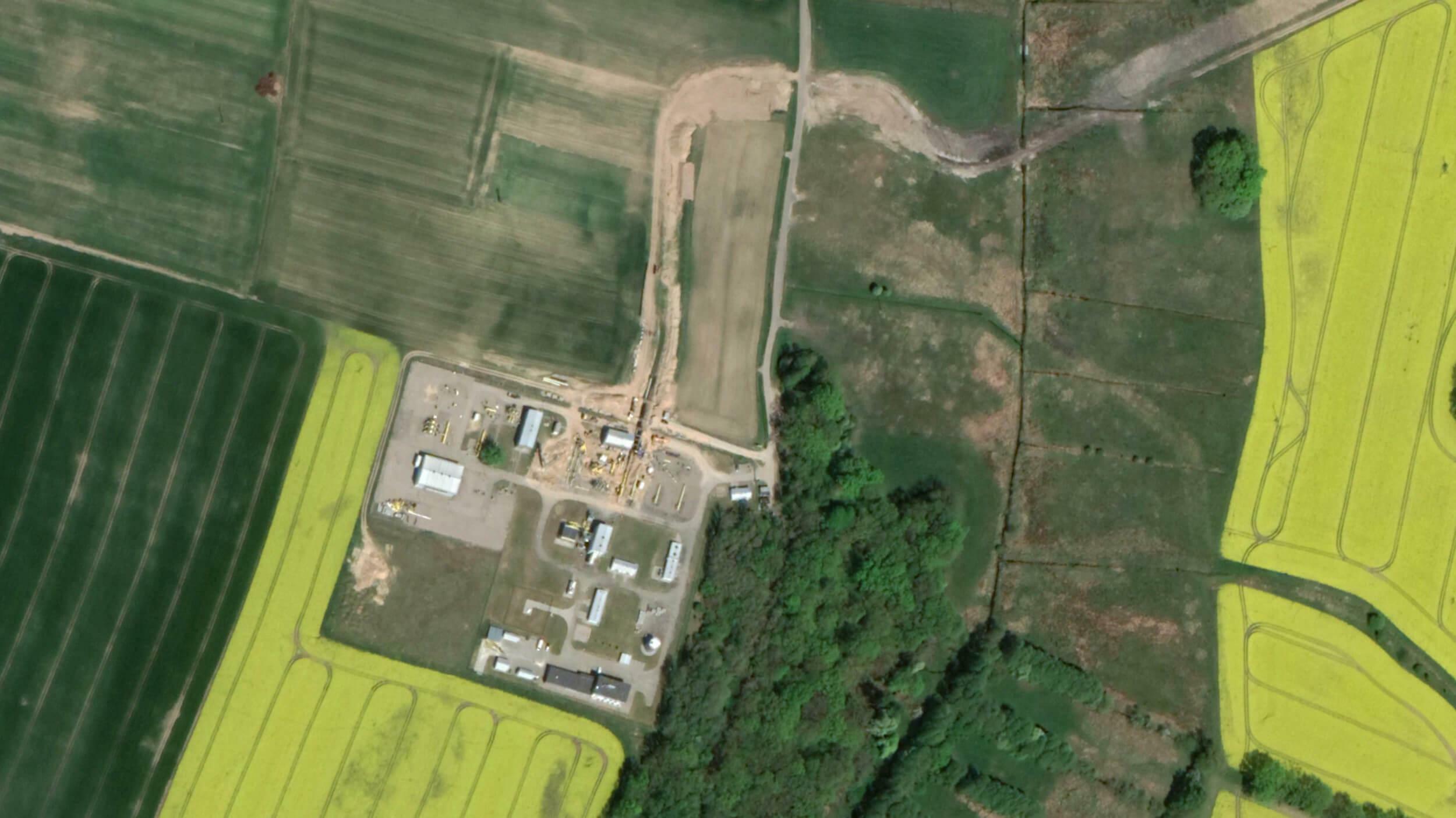 Baustelle in Goleniów