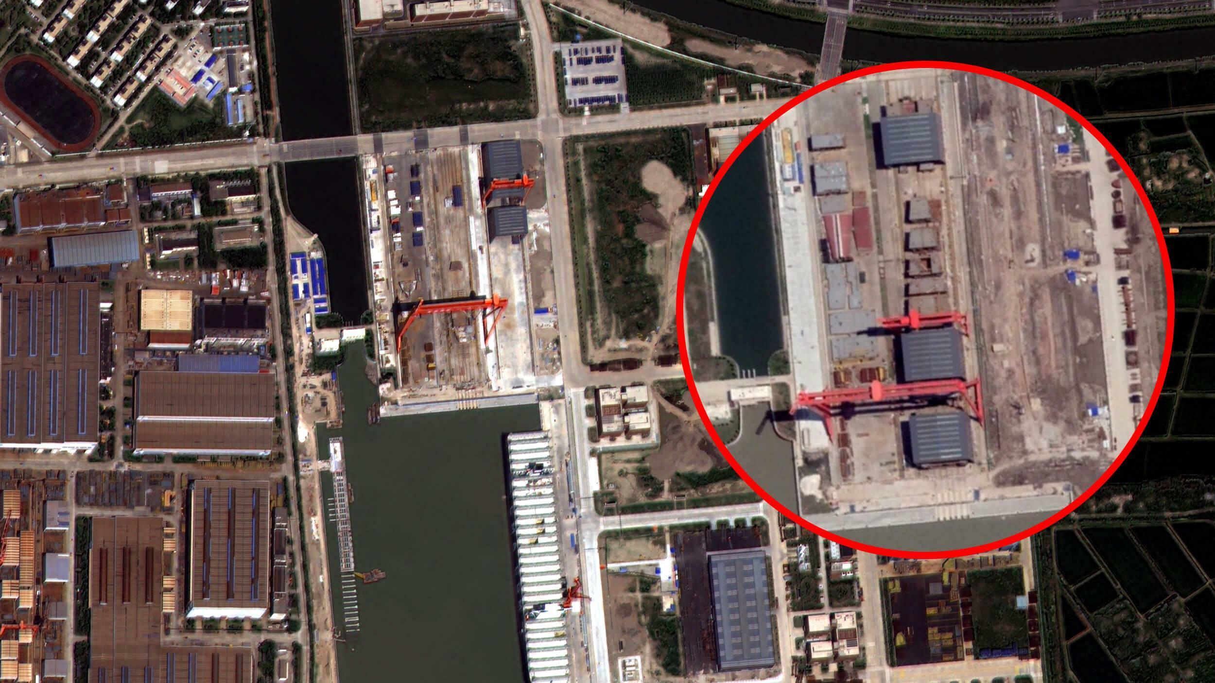 Werft in Dalian