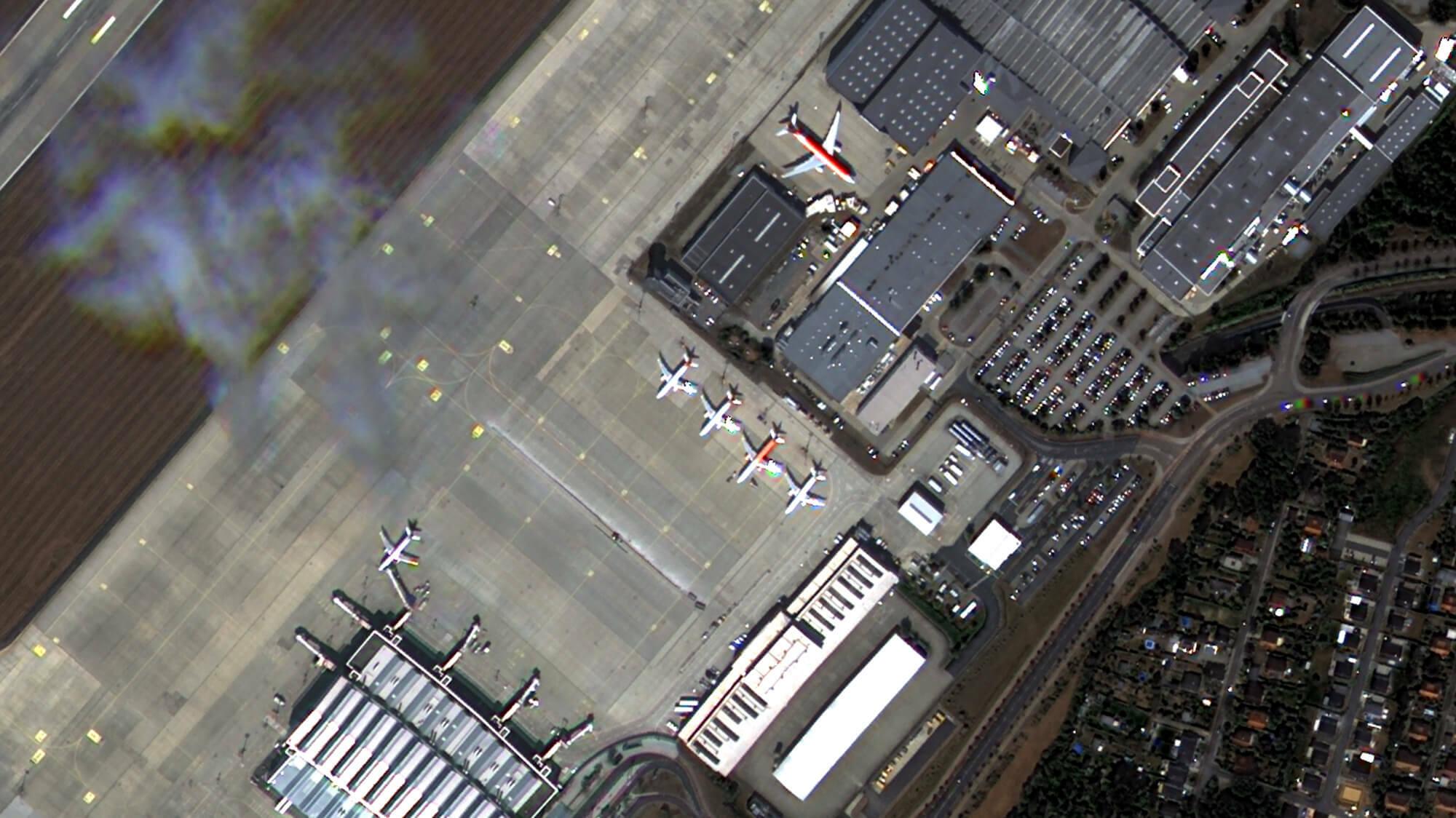 Am Flughafen Dresden parkt Airbus fabrikneue Maschinen.