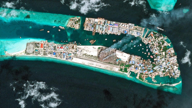 Diese Insel ist aus Müll gebaut