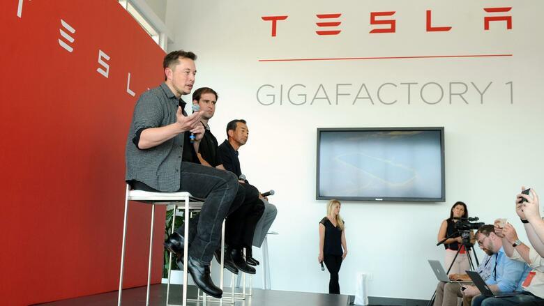 Gigafactory: Tesla baut weiter an seiner Batteriefabrik