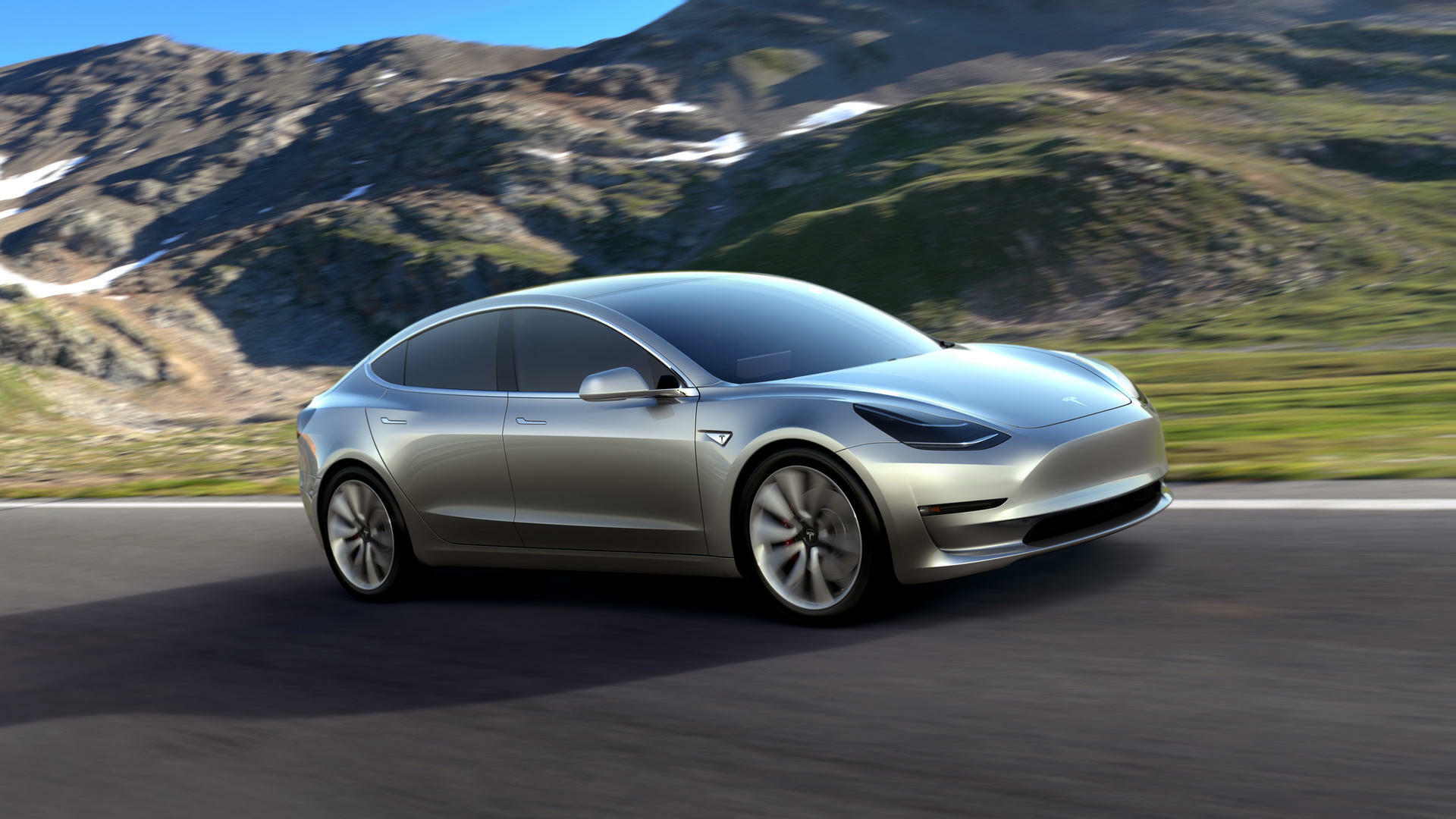 Tesla Model 3 Quelle: PR