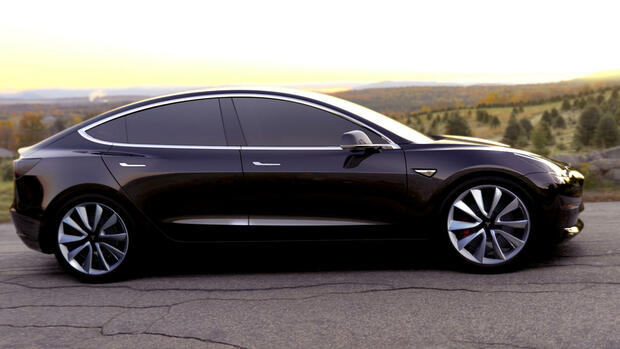 Tesla Model 3. Quelle: dpa