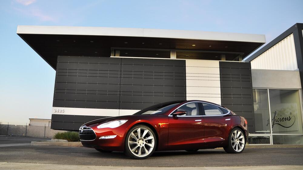 Tesla Model S Quelle: PR